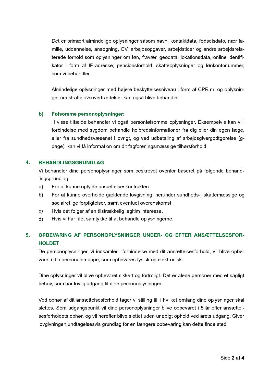 05 Privatlivspolitik, ansatte s. 2