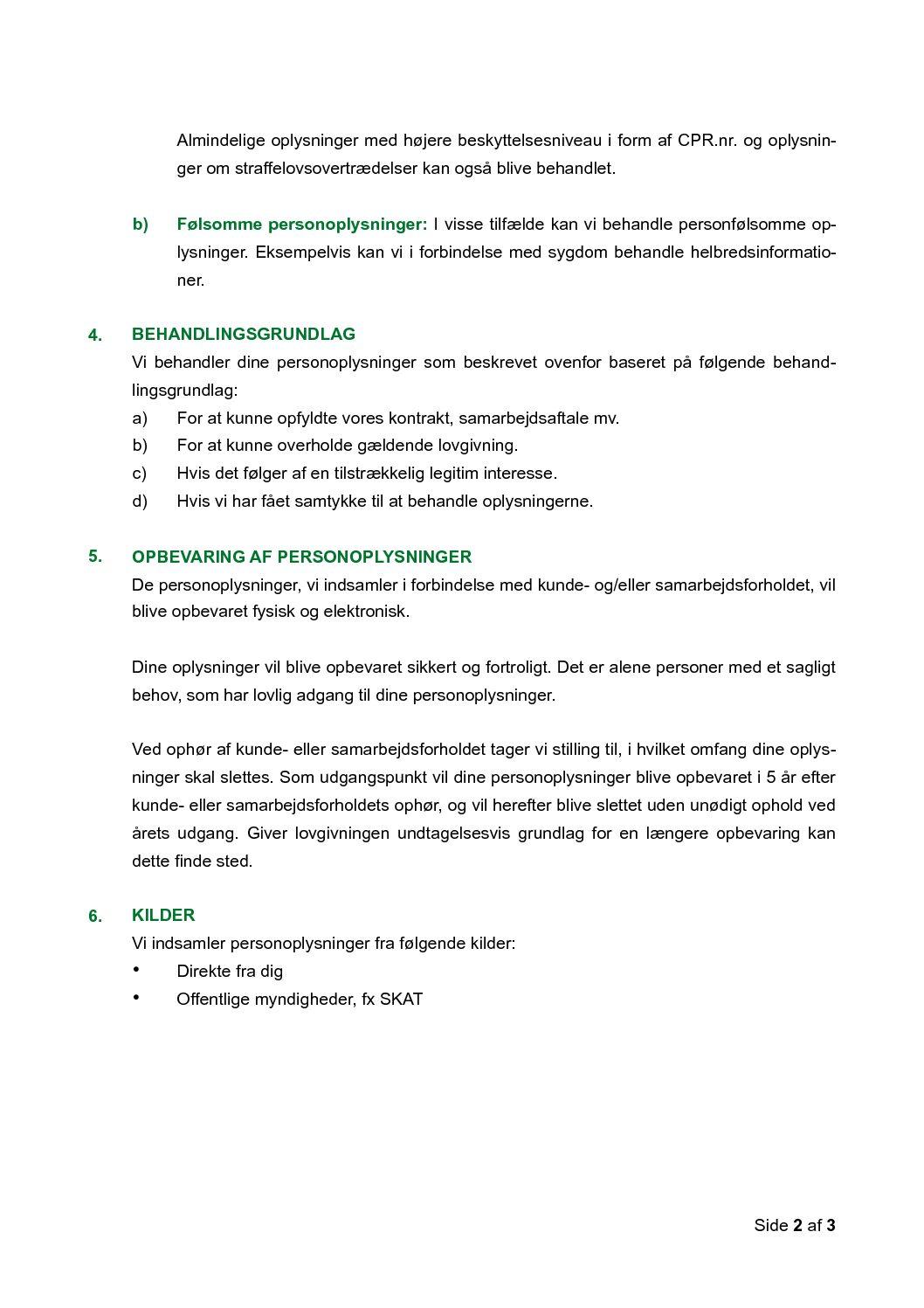 05 Privatlivspolitik, kunder s. 2