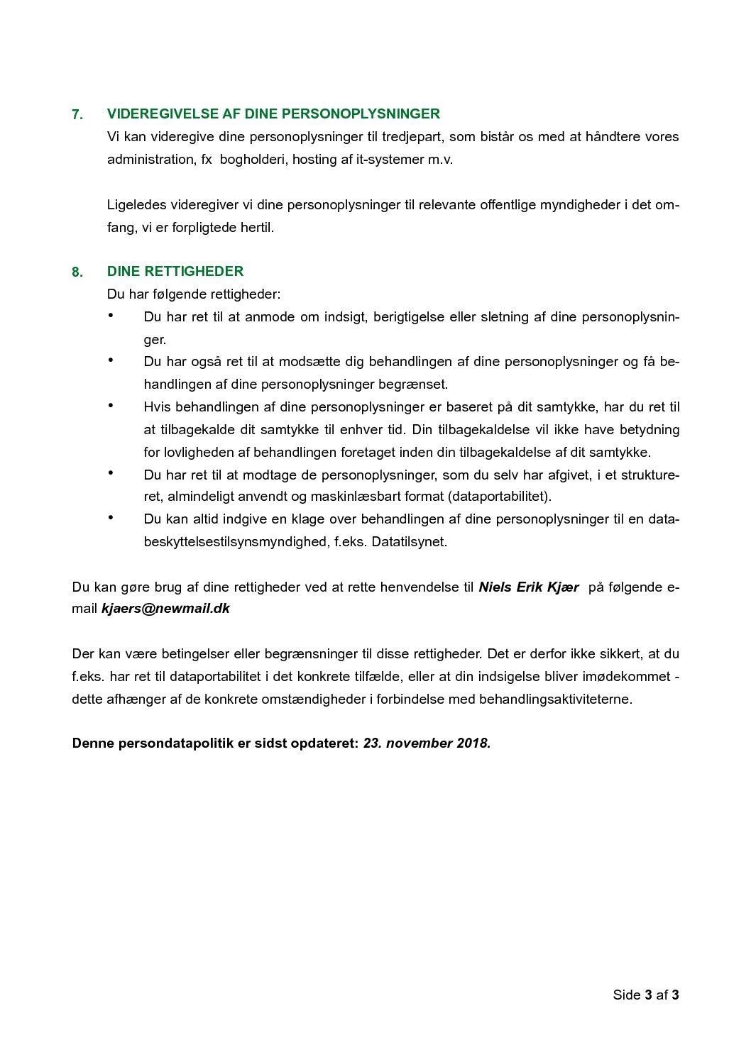 05 Privatlivspolitik, kunder s. 3